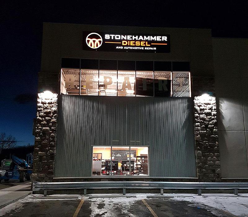 Stonehammer Diesel Okotoks Exterior